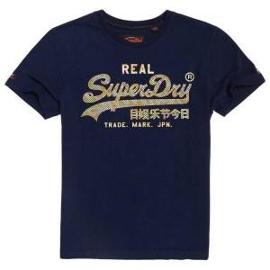 ביגוד סופרדרי לגברים Superdry Vintage Logo Muilti Colour - כחול