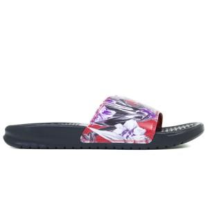 נעליים נייק לנשים Nike BENASSI JDI PRINT - שחור/אדום