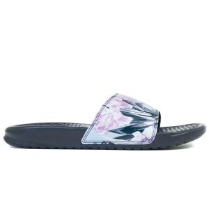נעליים נייק לנשים Nike BENASSI JDI PRINT - שחור/אפור
