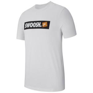 ביגוד נייק לגברים Nike SWOOSH BMPR - לבן