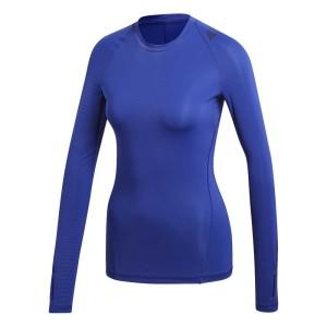 ביגוד אדידס לנשים Adidas Alphaskin Tech - כחול