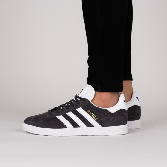 נעליים Adidas Originals לנשים Adidas Originals Gazelle - שחור/לבן