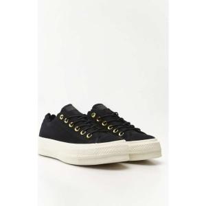 נעליים קונברס לנשים Converse CHUCK TAYLOR ALL STAR LIFT SCALLOP - שחור