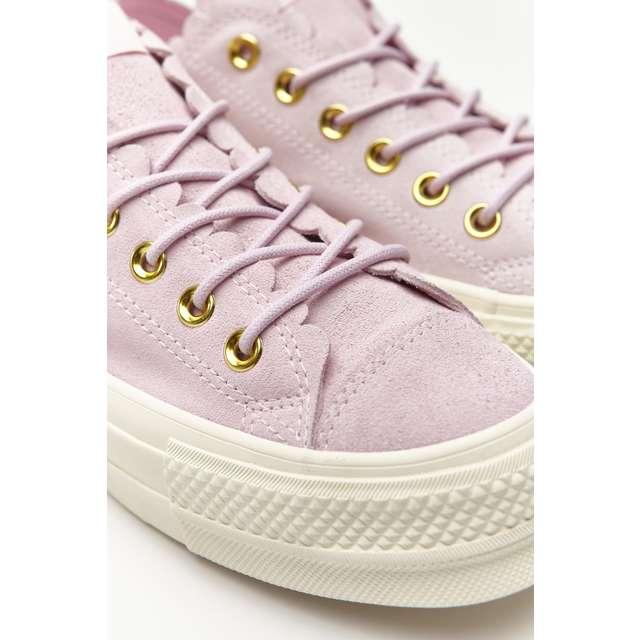 81ffd009be נעליים קונברס לנשים Converse CHUCK TAYLOR ALL STAR LIFT SCALLOP - ורוד