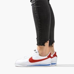 נעליים נייק לנשים Nike Cortez Basic - לבן/אדום