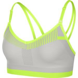 ביגוד נייק לנשים Nike Flyknit Indy - אפור/צהוב
