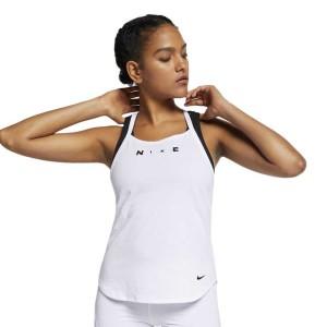 ביגוד נייק לנשים Nike Training Surf Sport Elastika - לבן