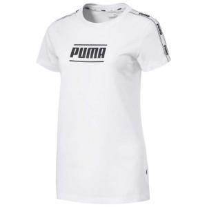 ביגוד פומה לנשים PUMA Camo Pack Tape - לבן