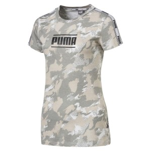 ביגוד פומה לנשים PUMA Camo Pack - אפור