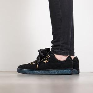 נעליים פומה לנשים PUMA Suede Heart Satin - שחור