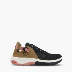 נעלי טיולים סלומון לנשים Salomon Techamphibian 4 - חום