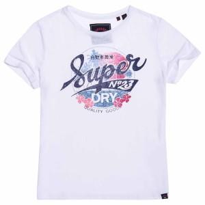 ביגוד סופרדרי לנשים Superdry 23 Hawaii - לבן