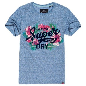 ביגוד סופרדרי לנשים Superdry 23 Tropical Burst - כחול