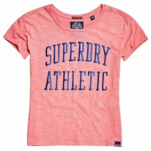 ביגוד סופרדרי לנשים Superdry Athletic Slim Bf - כתום