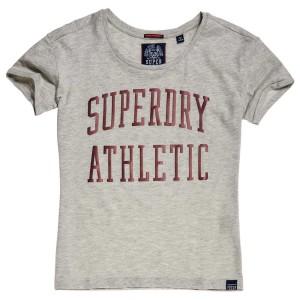 ביגוד סופרדרי לנשים Superdry Athletic Slim Bf - אפור