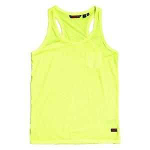 ביגוד סופרדרי לנשים Superdry Burnout Pocket - צהוב