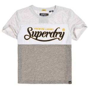 ביגוד סופרדרי לנשים Superdry Premium Luxe Colour Block - אפור