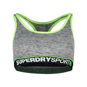 ביגוד סופרדרי לנשים Superdry Sports Essentials Bra - אפור