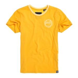 ביגוד סופרדרי לנשים Superdry Vintage Logo Heritage - צהוב