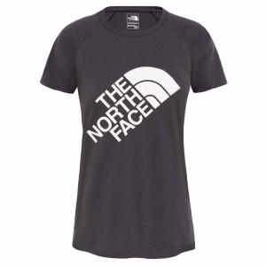 ביגוד דה נורת פיס לנשים The North Face Graphic Play Hard  - שחור