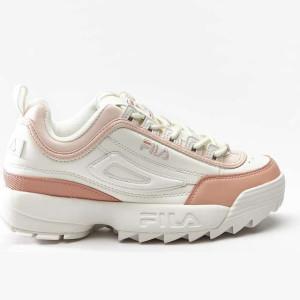 נעליים פילה לנשים Fila DISRUPTOR CB LOW - לבן/כתום