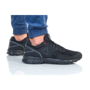נעלי הליכה ריבוק לגברים Reebok RIDGERIDER TRAIL 4 - שחור