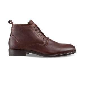 נעליים נו ברנד לגברים NOBRAND Tasty - חום כהה
