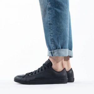 נעלי סניקרס קונברס לגברים Converse CHUCK TAYLOR OX - שחור