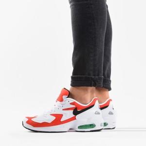 נעליים נייק לגברים Nike Air Max 2 Light - לבן/אדום