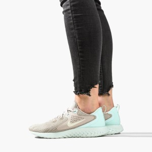 נעליים נייק לנשים Nike Legend React  - אפור/טורקיז