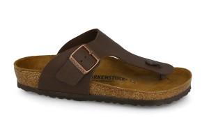 נעליים בירקנשטוק לגברים Birkenstock Ramses  - חום