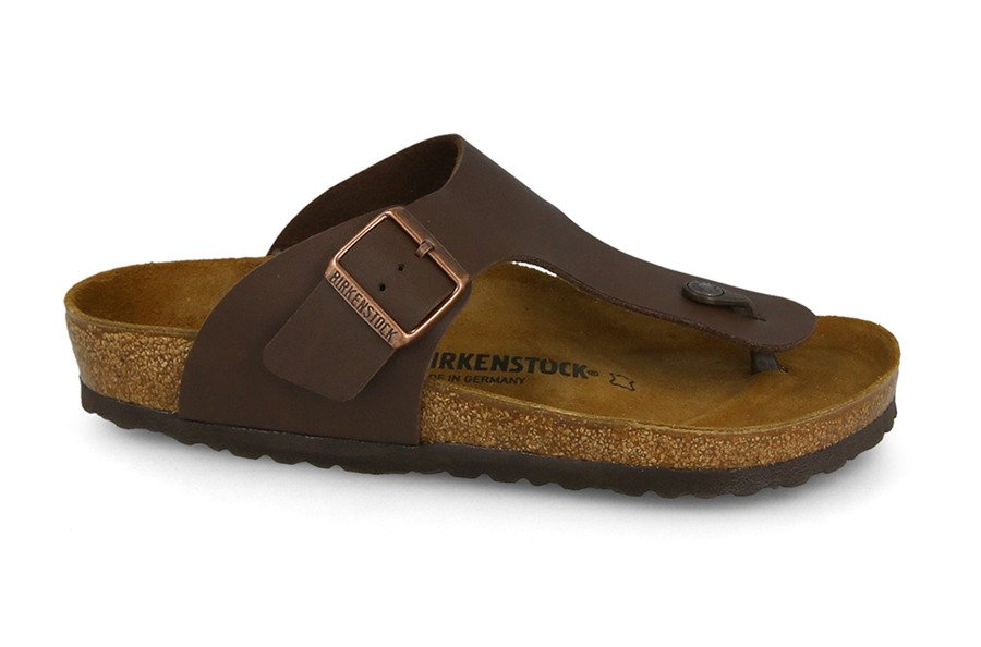 כפכפים בירקנשטוק לגברים Birkenstock Ramses Brown - חום