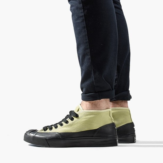 נעליים קונברס לגברים Converse A$AP NAST x  Jack Purcell Chukka Mid - ירוק