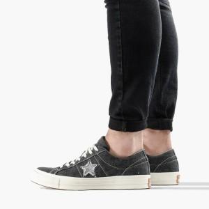 נעליים קונברס לגברים Converse Chuck Taylor One Star Sunbaked - שחור