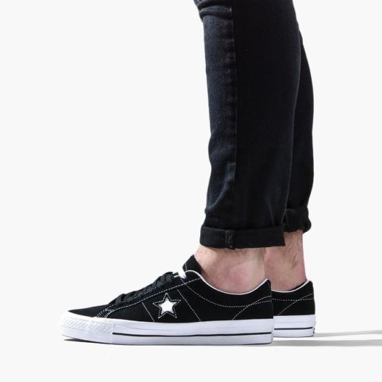 נעליים קונברס לגברים Converse One Star Pro Ox - שחור