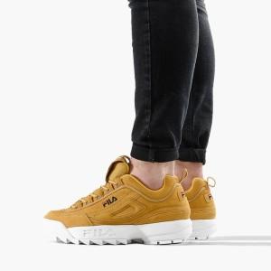 נעליים פילה לגברים Fila Disruptor S Low - חרדל
