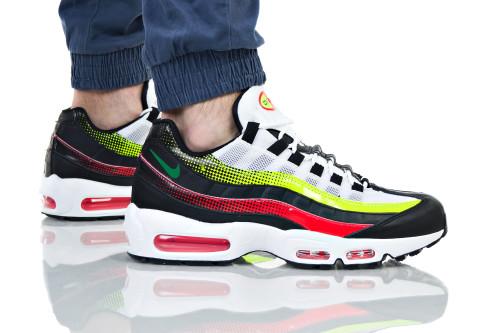 נעלי הליכה נייק לגברים Nike AIR MAX 95 - צבעוני/לבן