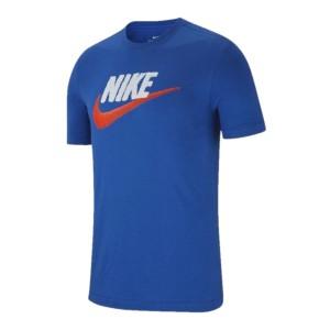 ביגוד נייק לגברים Nike NSW TEE BRAND MARK - כחול