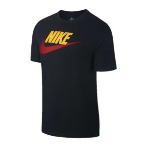 ביגוד נייק לגברים Nike NSW TEE ICON FUTURA - שחור/צהוב