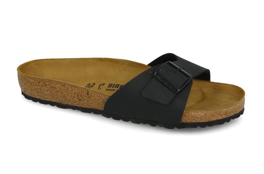 נעליים בירקנשטוק לנשים Birkenstock Flip-flop  Madrid Black - שחור