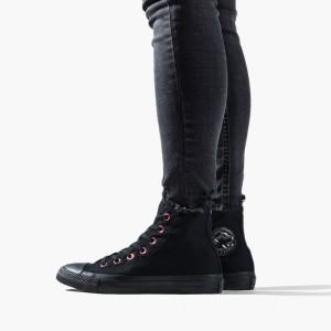 נעליים קונברס לנשים Converse Chuck Taylor All Star High Top - שחור מלא