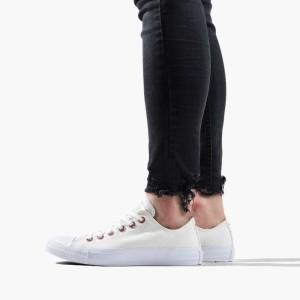 נעליים קונברס לנשים Converse Chuck Taylor Ctas OX - לבן