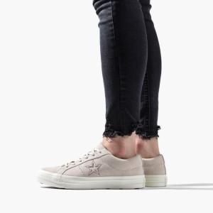 נעליים קונברס לנשים Converse Chuck Taylor One Star OX - אפור/לבן
