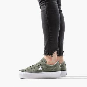 נעליים קונברס לנשים Converse Chuck Taylor One Star Platform - ירוק