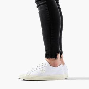 נעליים קונברס לנשים Converse Chuck Taylor One Star Sunbaked - לבן