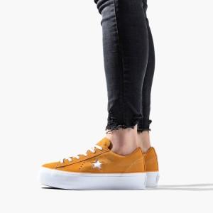 נעליים קונברס לנשים Converse Chuck Taylor One Star Platform - כתום