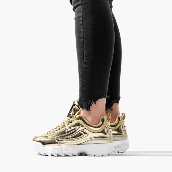 נעליים פילה לנשים Fila Disruptor M Low - זהב