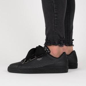 נעליים פומה לנשים PUMA Basket Heart Ath Lux Wns - שחור