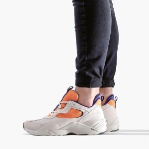 נעליים ארק קופנהגן לגברים Arkk Copenhagen Kanetyk Suede - לבן/כתום