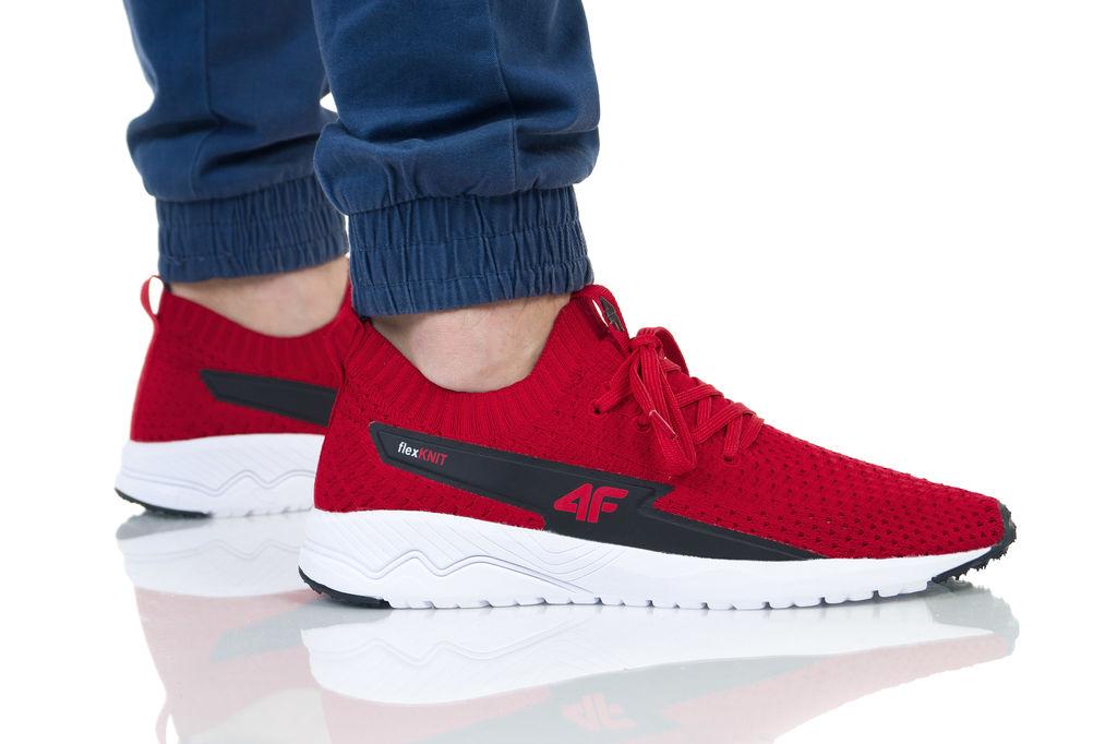 נעליים פור אף לגברים 4F BUTY - אדום
